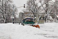 Grtalica, snijeg
