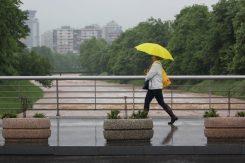 Kiša, kišobran, most