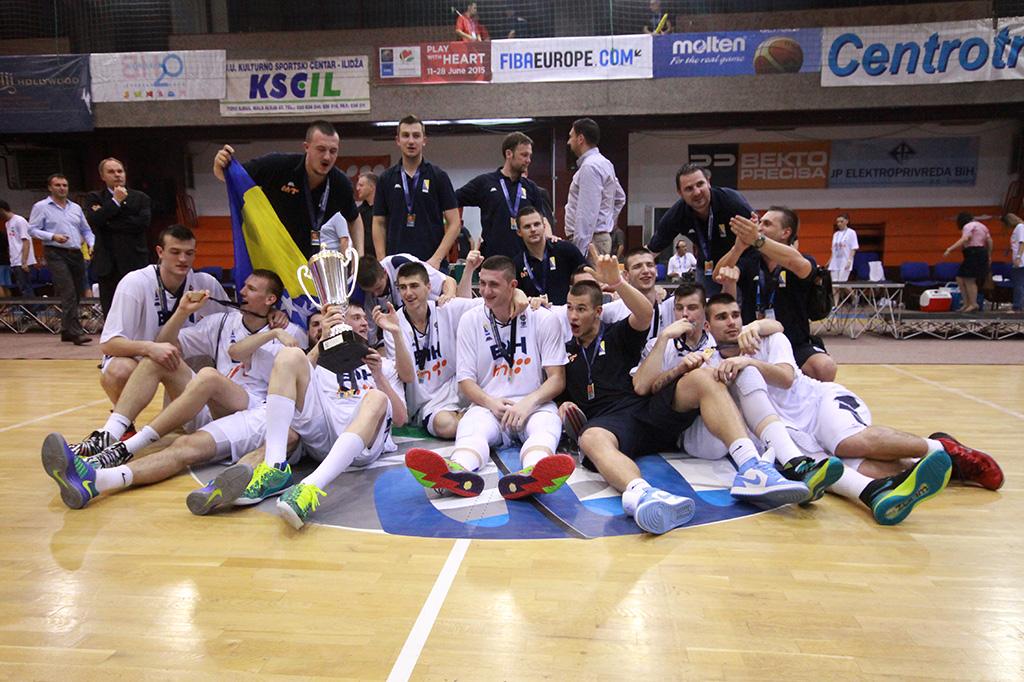 BiH U20 slavlje