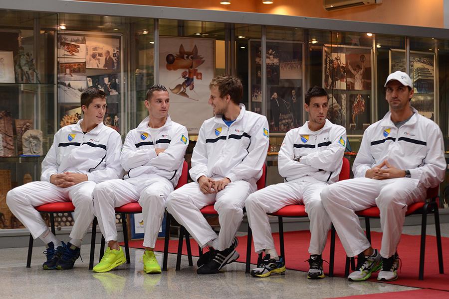 Izvlacenje Davis Cup, Zetra