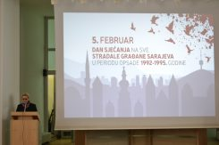 Dan sjećanja na sve poginule građane Sarajeva u periodu od 1992. do 1995.